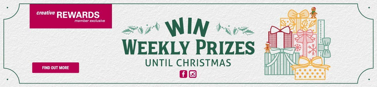 Win Weekly Prizes Until Christmas!