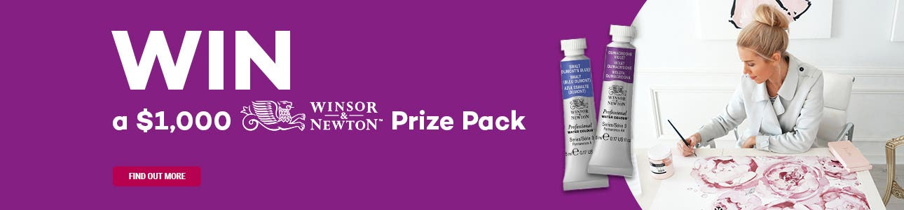 WIN a $1,000 Winsor & Newton Prize Pack