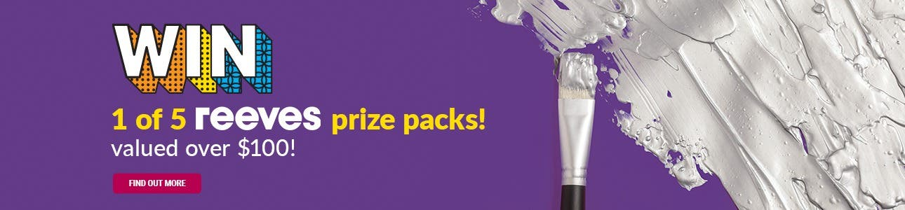 WIN 1 of 5 Reeves Prize Packs!