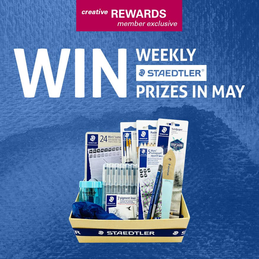 Creative Rewards Exclusive - WIN weekly STAEDTLER Prizes in May