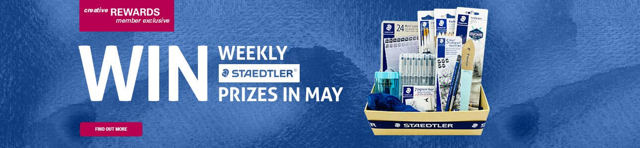WIN Weekly STAEDTLER Prizes in May!