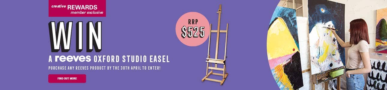 Reeves Oxford Studio Easel valued at $525