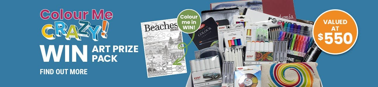 Colour Me CRAZY Beaches COVERED Competition