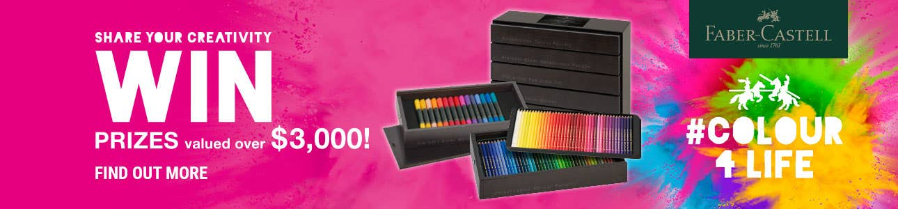 WIN #Colour4Life Prizes valued over $3,000!