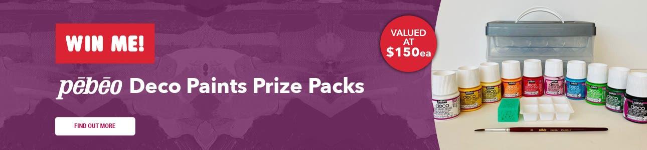 Pebeo Deco Paints Prize Packs