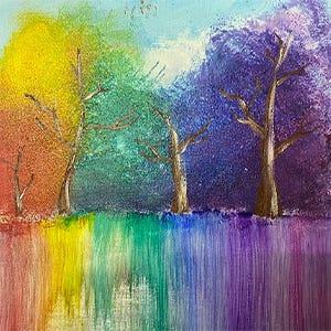 Rainbow Trees Kids Class