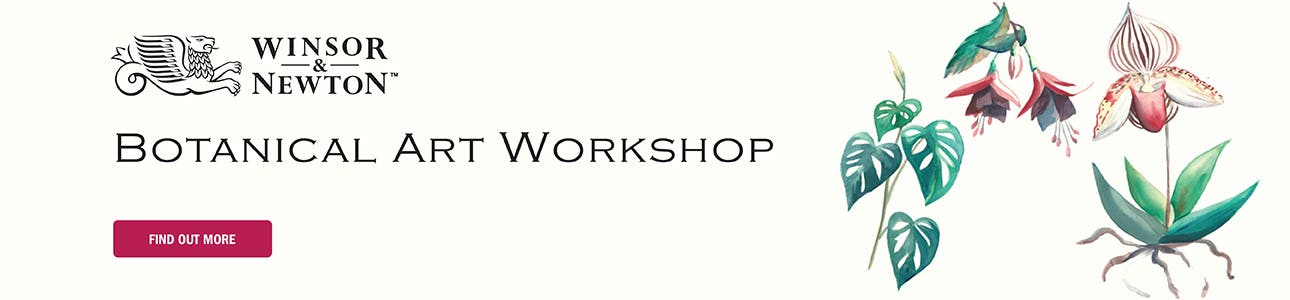 Winsor & Newton Water Colour Botanical Workshop