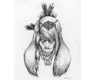 Daniel-Larking_artwork_feathersandbeads_1
