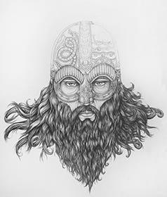 Daniel-Larking_artwork_manyshipslost